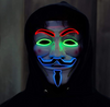 Led Anonymous Mask