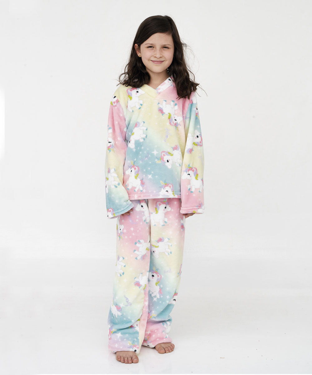 Pijama supersoft infantil Unicornio