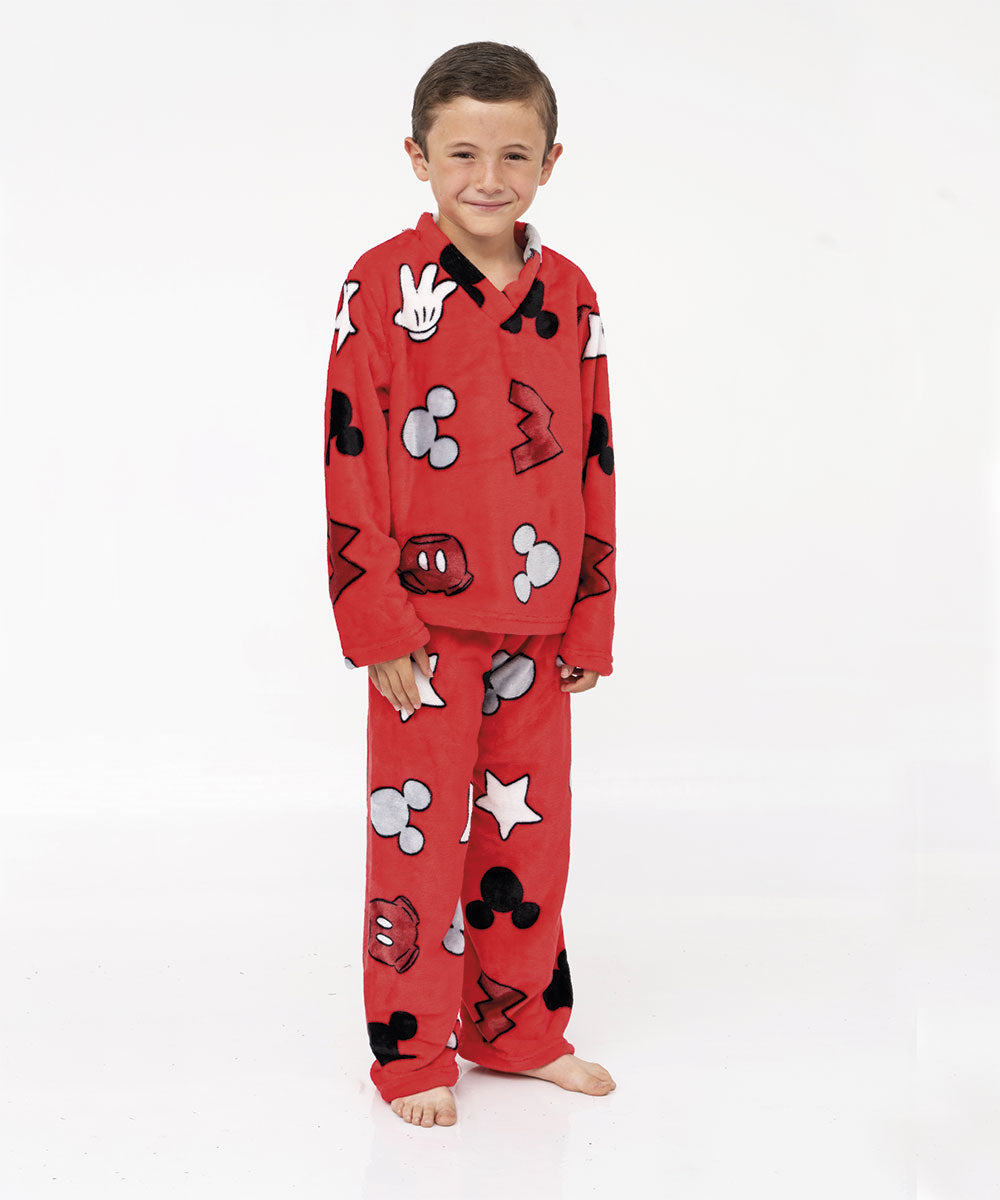 Pijama supersoft infantil Mickey