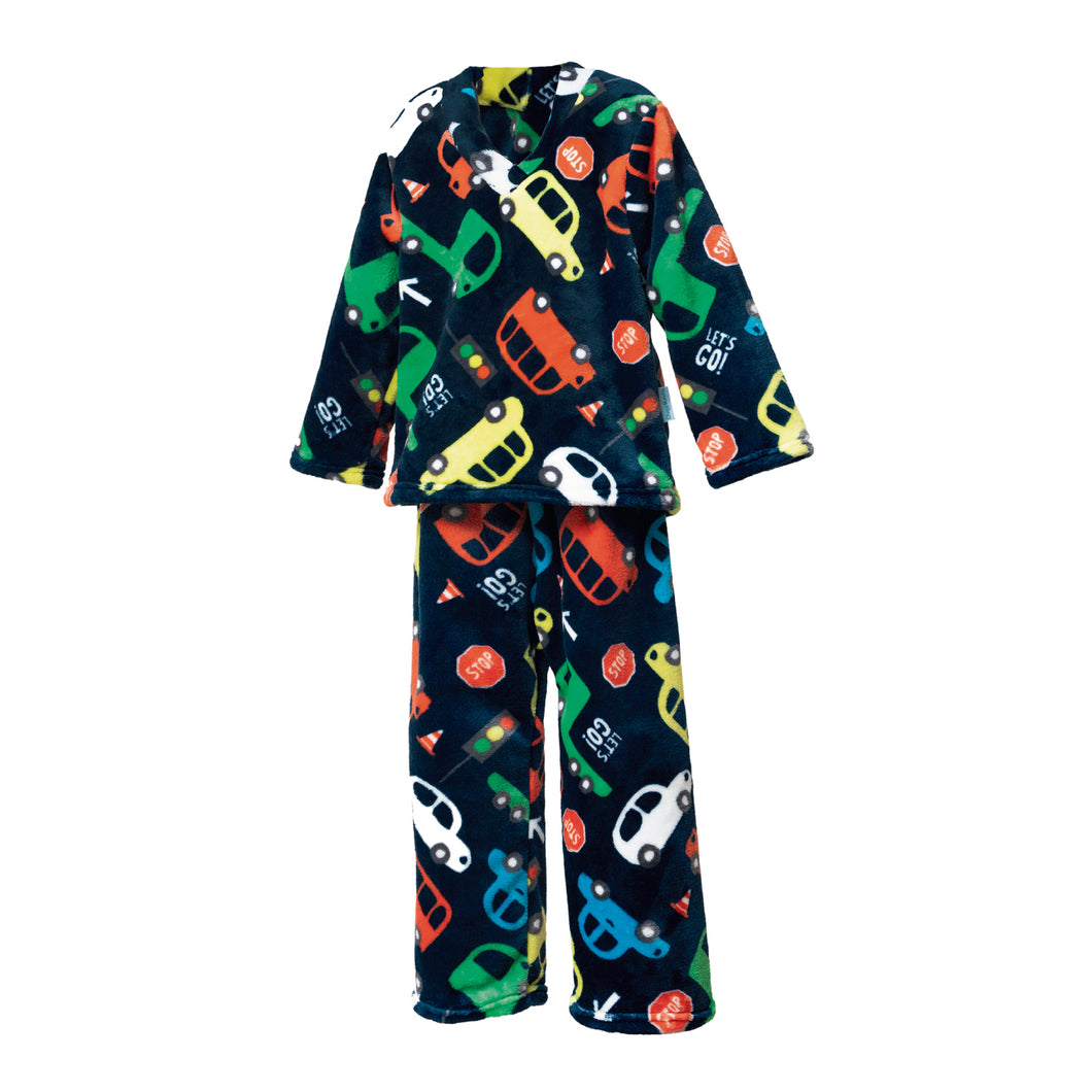 Pijama supersoft infantil Transportes