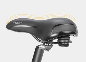 SELLE ROYAL MTB Bike Bicycle Saddle Rail Hollow Breathable Absorption Rainproof Soft Memory Sponge Casual Off-road Cycling Seat