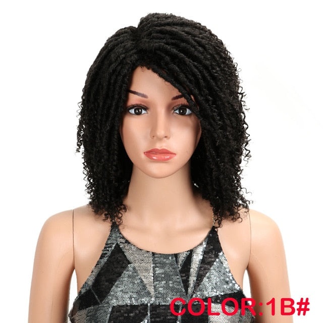 MAGIC Hair Soft Short Synthetic Wigs For Black Women 14