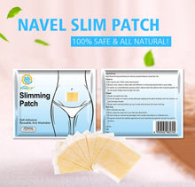 Load image into Gallery viewer, KONGDY 30 Pieces/3 Bags Slimming Patch Fast Burning Fat&Lose Weight Products Natural Herbs Navel Sticker Body Shaping Patches