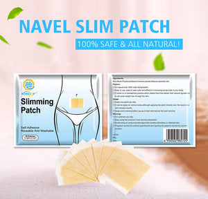 KONGDY 30 Pieces/3 Bags Slimming Patch Fast Burning Fat&Lose Weight Products Natural Herbs Navel Sticker Body Shaping Patches