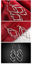 Load image into Gallery viewer, 2020 New Arrival 925 Silver Jewelry Women High Quality Long Earrings Hanging Drop Earring Jewelry