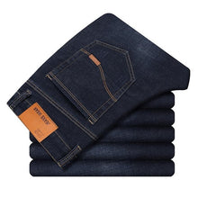 Load image into Gallery viewer, Men  Classic Jeans Jean Homme Pantalones Hombre Men  Mannen Soft Black Biker Masculino Denim Overalls Mens Pants