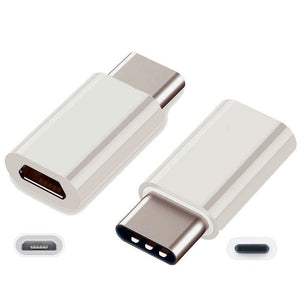 Hot sale!  USB 3.1 Type C Male to Micro USB Female Adapter Type-C Converter Connector USB-C black and white