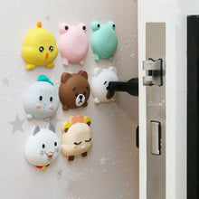 Load image into Gallery viewer, Fashion Cartoon Door stopper Doorknob Rubber Fender Lock Protective Pad Door Crash Pad Wall Protector Savor Shockproof Crash Pad