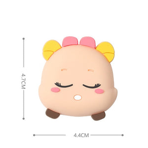 Fashion Cartoon Door stopper Doorknob Rubber Fender Lock Protective Pad Door Crash Pad Wall Protector Savor Shockproof Crash Pad