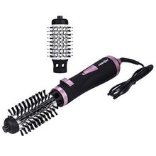Load image into Gallery viewer, 2 In 1 Rotating Brush Hot Air Styler Comb Curling Iron Roll Styling Brush Hair Dryer Blow With Nozzles 2 Speed & 3 Heat Setting