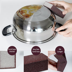 Magic Sponge Removing Rust  Clean Cotton Wipe Cleaner Kitchen Tool Kitchen accessories wash pot  gadgets