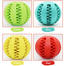 Load image into Gallery viewer, New Pet Dog Toy Interactive Rubber Balls Pet Dog Cat Puppy Chew Toys Ball Teeth Chew Toys Tooth Cleaning Balls Food