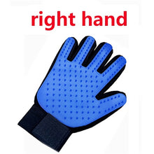 Load image into Gallery viewer, Cat Glove Cat Grooming Glove Pet Brush Glove for Cat Dog Hair Remove Brush Dog Deshedding Cleaning Combs Massage Gloves