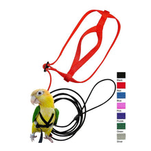 Load image into Gallery viewer, Hot Sale Pet Bird Harness and Leash,Adjustable Parrot Bird Harness Leash - Pet Anti-Bite Training Rope Outdoor Flying Harness an