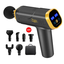 Load image into Gallery viewer, Massage Gun Fascia Gun Neck Massager Vibration Fitness Equipment Noise Reduction Design Electric Massager