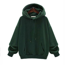 Load image into Gallery viewer, Hoodies Sweatshirts Women Long Sleeve Hoodie 2020 Sweatshirt Female Casaul Pocket Hooded Clothes Oversized Hoodie Warm Hoodies