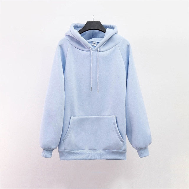Hoodies Sweatshirts Women Long Sleeve Hoodie 2020 Sweatshirt Female Casaul Pocket Hooded Clothes Oversized Hoodie Warm Hoodies