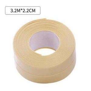 Bathroom Stickers Shower Sink Bath Sealing Strip Tape White PVC Self adhesive Waterproof Wall Sticker for Bathroom Kitchen