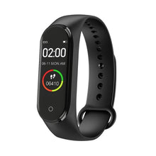 Load image into Gallery viewer, New M4 Smart Band Fitness Tracker Smart Watch Sport Bracelet Heart Rate Blood Pressure Smartband Monitor Health Wristband
