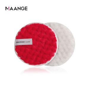MAANGE Soft Makeup Removal Sponge Flutter Face Washing Cotton Flapping Reusable Sponge Face Cleansing Sponge Cleaner Tools TXTB1