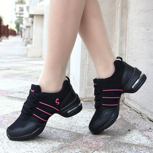 Hot Sale 2020 EU35-44 Sports Feature Soft Outsole Breath Dance Shoes Sneakers For Woman Practice Shoes Modern Dance Jazz Shoes