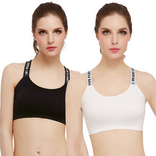Load image into Gallery viewer, Yoga Bra Women Sport Top One Size Cotton Sports Bra Thin Wrap Chest Bra Cotton Breathable Underwear For Female Bras #ED