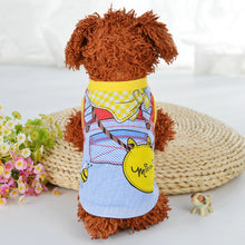 Load image into Gallery viewer, Cartoon Puppy Dog Vest Shirt Summer Pet Clothes for Small Dogs Chihuahua Yorkshire Maltese Shirts Dogs Pets Clothing Cat Outfit