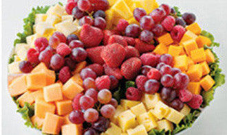 Fresh Fruit and Cheese Tray