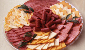 Meat and Cheese Snack Tray