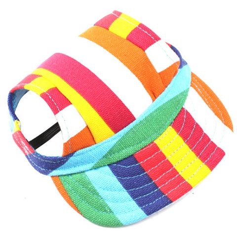 Multi-Color Hat For Puppy