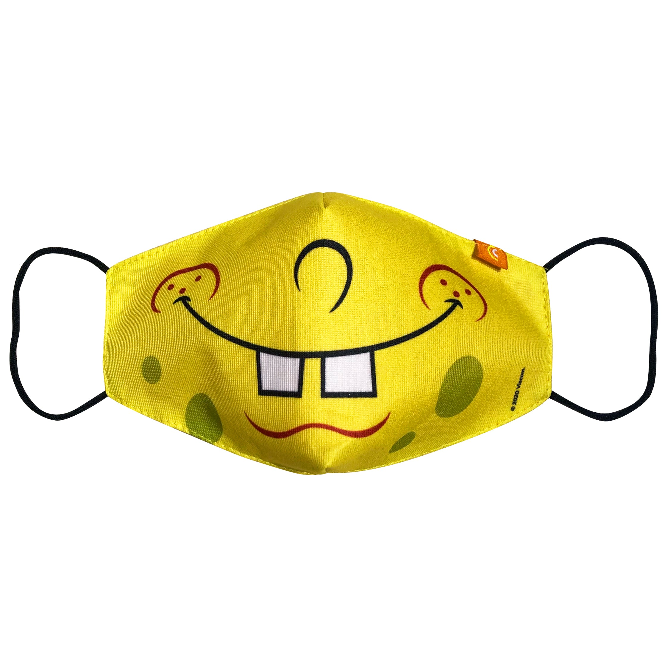Sponge Bob Close Mouth Main Mask
