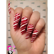 Load image into Gallery viewer, Candy Cane Claws
