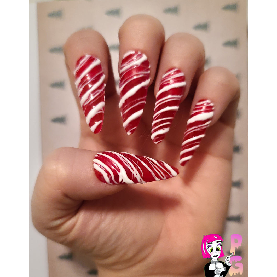 Candy Cane Claws