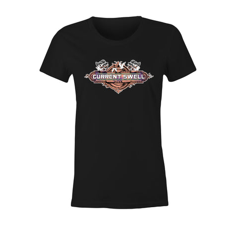 Buffalo T-Shirt (Women's) - Black