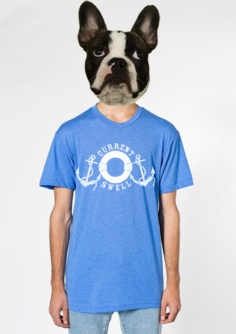 Anchors T-Shirt - Blue