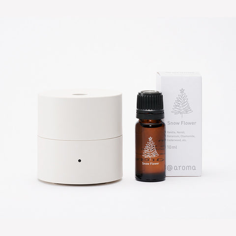 fan diffuser kō & Snow Flower 10ml set