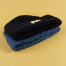 Load image into Gallery viewer, Hoy Diner Waffle Beanie - Blueberry