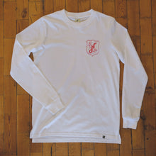 Load image into Gallery viewer, Hoy Beach Organic Long sleeve T-shirt - Natural