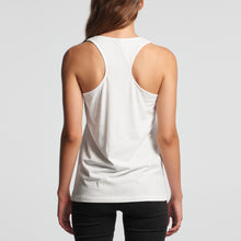 Load image into Gallery viewer, Women's Hoy Classics Racer Back Singlet - White