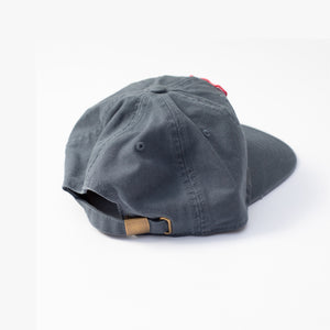 Hoy Beach Six Panel Cap - Weathered Blue