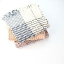Load image into Gallery viewer, Heavy Cotton Throw - Set of Three