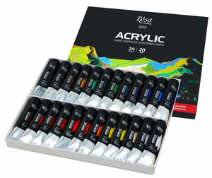 Acrylic Paint Set Rosa Gallery, Professional Artist Colours, Best Quality paints