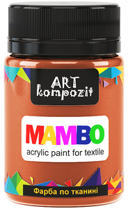 Mambo Acrylic Paint for Textiles, Metallic and Fluorescent Colours