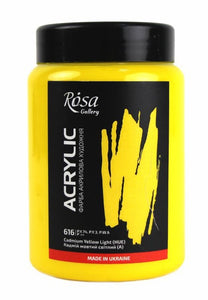 Professional Rosa Gallery Acrylic paints 400ml, Vibrant Artist Level Colours