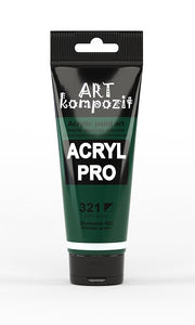 Acrylic Paint Art Kompozit, 75ml, 60 Professional Artist Colours