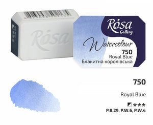 Watercolor Paint Half Pans, Professional Rosa Gallery, Clear & Vibrant Colors