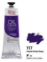 Carregar imagem no visualizador da galeria, Oil Paint 100 ml tubes Rosa Gallery, Professional Artist Colors, Several Colors