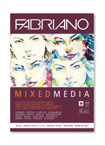 Mixed Media Fabriano Paper, High Quality, 250 grams/m2, 40 Pages