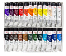 Load image into Gallery viewer, Professional ROSA Gallery Oil Paint Set, Assorted Colors for Artists