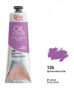Oil Paint 100 ml tubes Rosa Gallery, Professional Artist Colors, Several Colors